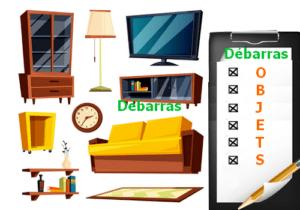débarras meuble gratuit liste objets